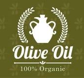Conception d'huile d'olive Images libres de droits