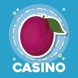Conception d'icône de casino Illustration de Vecteur