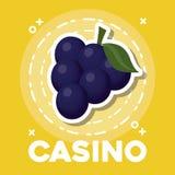 Conception d'icône de casino Illustration Stock