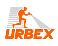 Conception d'icône d'Urbex illustration libre de droits