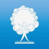 Conception d'icône d'arbre Photographie stock libre de droits