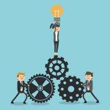 Conception d'icône d'hommes d'affaires Image libre de droits