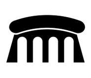 conception d'icône d'isolement par barrage de l'eau illustration de vecteur
