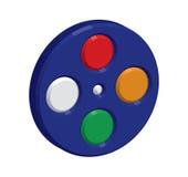 conception d'icône de bobine de film 3D illustration libre de droits