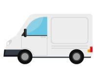 Conception d'icône de transport de Vanvehicle illustration de vecteur