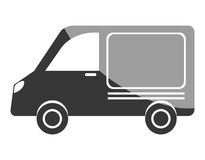 Conception d'icône de transport de Vanvehicle illustration stock