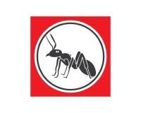 Conception d'illustration de vecteur de calibre d'Ant Logo illustration stock