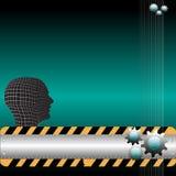 Conception d'imagination avec des trains Image libre de droits