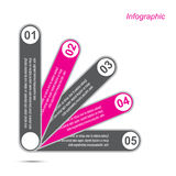 Conception d'Infographic pour le rang de produit Photos stock