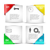 Conception d'Infographics Photo libre de droits