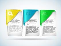Conception d'Infographics Images libres de droits