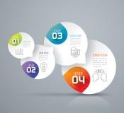 Conception d'Infographics illustration stock