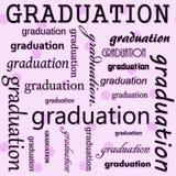 Conception d'obtention du diplôme avec la polka rose Dot Tile Pattern Repeat Backgr Image libre de droits
