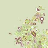 Conception d'oiseau Image libre de droits