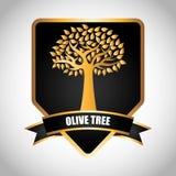 Conception d'olivier Image libre de droits