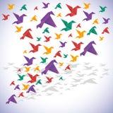 Conception d'origami Photo libre de droits