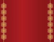 Conception d'or sur la ligne rouge fond Photographie stock