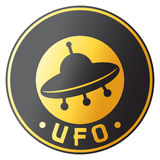Conception d'UFO Image stock
