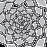 Conception de bannière Configuration florale abstraite Image libre de droits