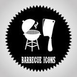 Conception de barbecue illustration de vecteur