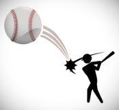 Conception de base-ball Photo libre de droits
