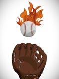 Conception de base-ball Photographie stock libre de droits