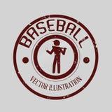 Conception de base-ball Image libre de droits