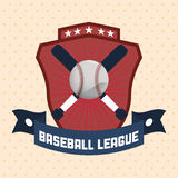 Conception de base-ball Photos stock