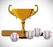 Conception de base-ball Photos libres de droits