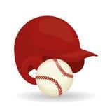 Conception de base-ball, sport et illustration d'approvisionnements Photographie stock