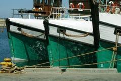 Conception de bateau de pêche Photo stock