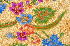 Conception de batik Photos libres de droits