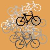 Conception de bicyclettes image stock