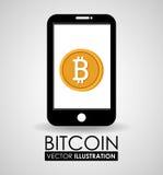 Conception de Bitcoin, illustration de vecteur illustration de vecteur