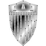 Conception de bouclier en métal Image libre de droits