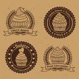Conception de boulangerie Photographie stock libre de droits