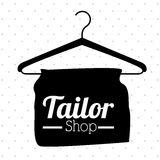 Conception de boutique de tailleur illustration libre de droits