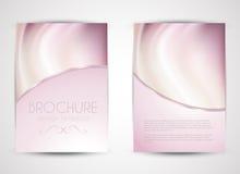 Conception de brochure Images stock