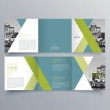 Conception de brochure, calibre de brochure Photos libres de droits