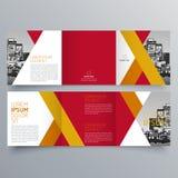 Conception de brochure, calibre de brochure Image libre de droits