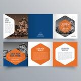 Conception de brochure, calibre de brochure Photo libre de droits