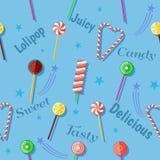 Conception de célébration de Lolipop Image libre de droits