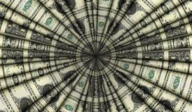 Conception de cônes du dollar Photos stock