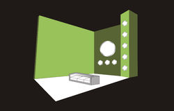 Conception de cabine illustration libre de droits