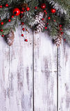Conception de cadre de Noël Photo stock