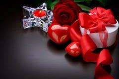 Conception de cadre de Valentine Images libres de droits