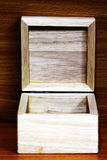 Conception de cadre en bois Images libres de droits
