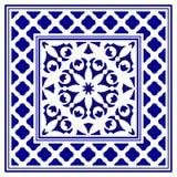 Conception de cadre de porcelaine illustration de vecteur