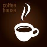 Conception de café Photographie stock libre de droits
