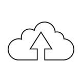 Conception de calcul de nuage Images libres de droits